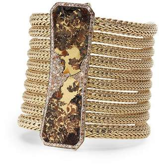 John Hardy Ironstone Classic Chain Gold Multi-Row Bracelet
