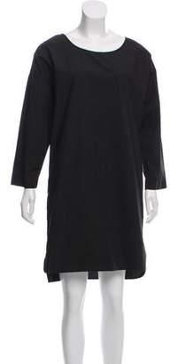 Nili Lotan Long Sleeve Knee-Length Dress
