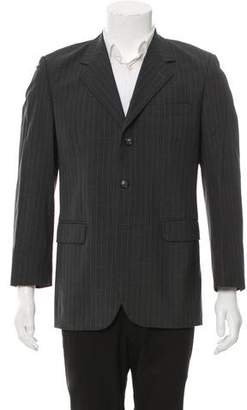 Saint Laurent Wool Three-Button Blazer