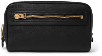 Tom Ford Full-Grain Leather Wash Bag