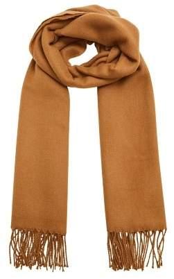 Mango Man MANGO MAN Fringed basic scarf