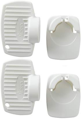 KidCo Adhesive Mount Magnet Key and Holder, 2 Count