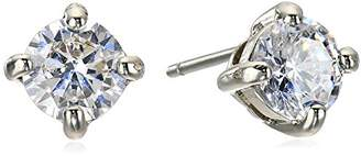 """lonna & lilly Classics"""" -Tone/Cubic Zirconia Crystal Stud Earrings"""