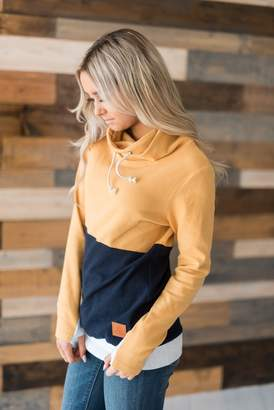 Ampersand Avenue CowlNeck Sweatshirt - Nautical