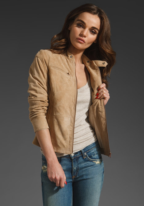 G-Star Deanie Suede Jacket