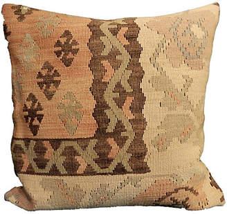 One Kings Lane Vintage Old Turkish Tribal Kilim Pillow