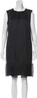 Dolce & Gabbana Silk & Virgin Wool Dress