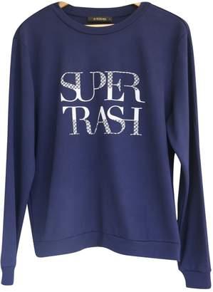 Supertrash Blue Cotton Top for Women