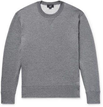 Dunhill Loopback Wool And Cashmere-Blend Sweatshirt