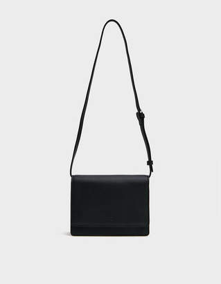 Baggu Small Structured Crossbody Bag in Black