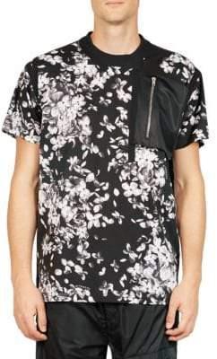 Givenchy Hydrangea-Print Tee
