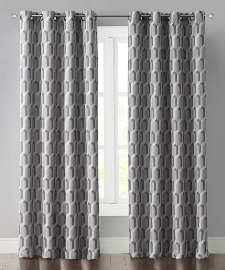 Gray Sebastian Curtain Panel