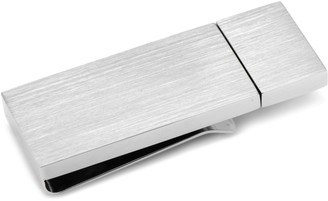 Brushed Silver-Plated 8 GB Flash Drive Money Clip
