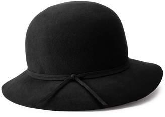 Apt. 9 Women's Solid Wool Felt Banded Cloche Hat