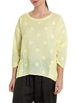 Marc O'Polo Marco Polo 3/4 Sorbet Spot Shirt