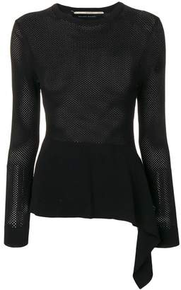 Roland Mouret perforated top