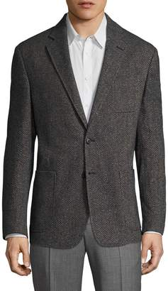 Billy Reid Men's Rustin Wool Herringbone Sportcoat