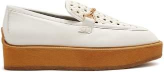 Stella McCartney Faux-leather platform loafers