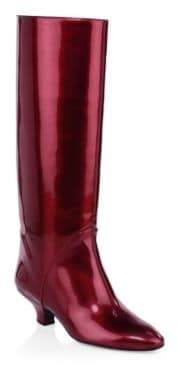 Marc Jacobs Patent Leather High Shaft Boots