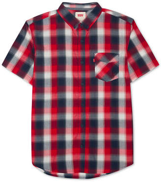 Levi's Men's Vernon Slim-Fit Plaid Shirt