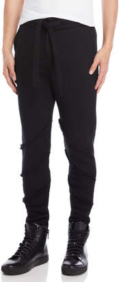 Forcerepublik Drawstring Drop Crotch Pants