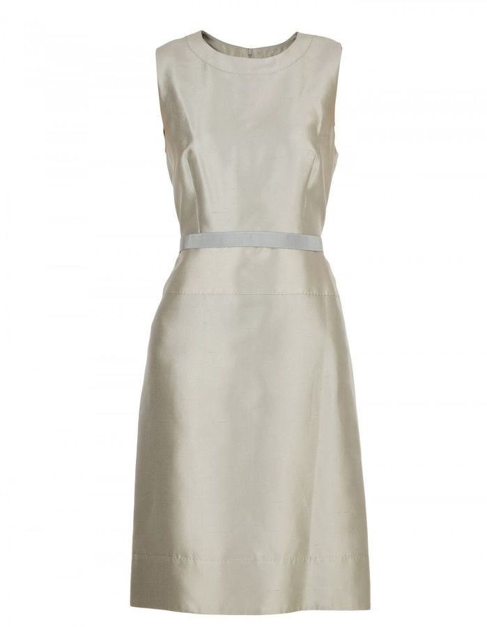 Max Mara Max Mara Silk And Cotton Dress