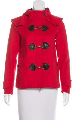Rag & Bone Wool Hooded Jacket