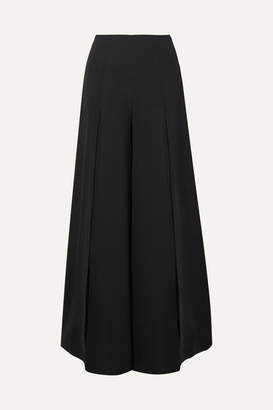 Marika Vera Angela Crepe Wide-leg Pants - Black
