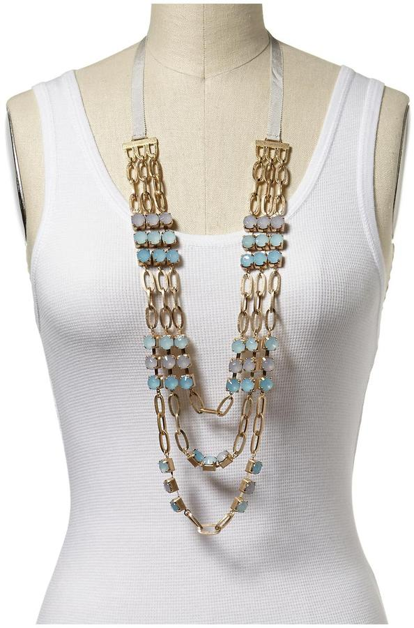 Juicy Couture Tinley Road Triple Statement Necklace