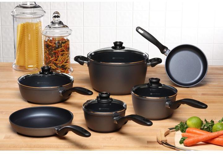 Swiss Diamond Classic Series Ultimate Kitchen Cookware Set (10-Piece)