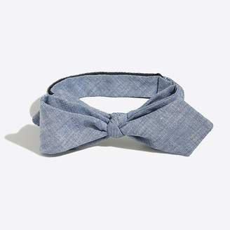 J.Crew Mercantile Faded chambray bow tie