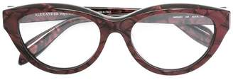 Alexander McQueen Eyewear cat eye glasses