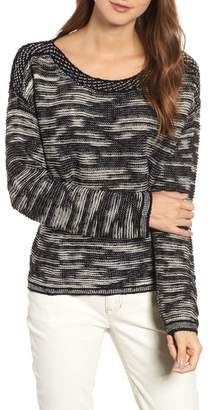 Eileen Fisher Bateau Neck Pullover