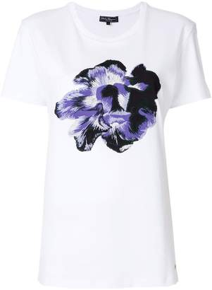 Salvatore Ferragamo flower print T-shirt