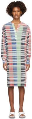 J.W.Anderson Multicolor Micro Pleat Dress