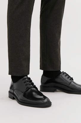 Cos POLISHED LEATHER DERBY SHOES