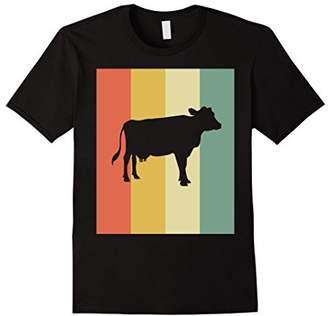 Cow Silhouette Shirt - Retro Vintage Classic T-Shirt