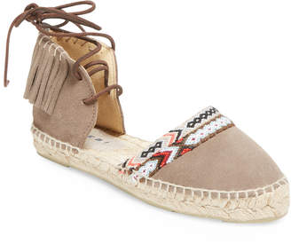 Manebi Leather Flat Sandal