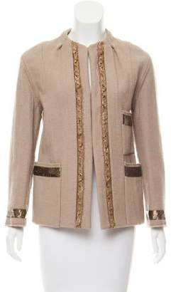 Marc Jacobs Embellished Wool Jacket