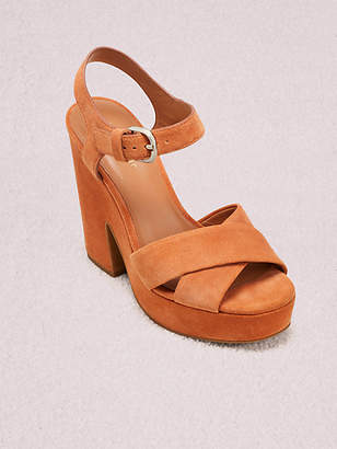 Kate Spade Grace Platform Sandals, Marigold - Size 5