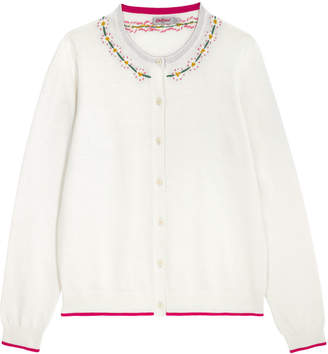 Cath Kidston Embroidered Collar Cardigan