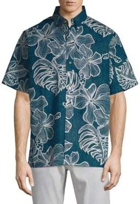 Reyn Spooner Mauna Monstera Button-Down Shirt