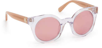 Henri Bendel Caroline Round Sunglasses