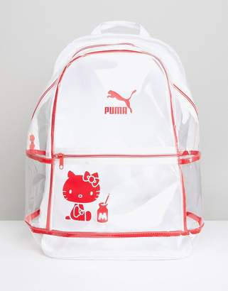 Puma X Hello Kitty Translucent Backpack