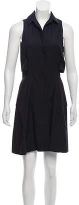 Proenza Schouler Sleeveless Button-Up Dress