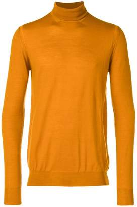 Paolo Pecora turtle-neck fitted sweater