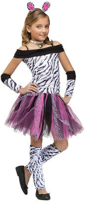 BuySeasons Zebra Big Girls Costume