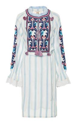 Figue Lou Lou Mini Embroidered Dress