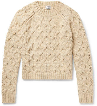 Acne Studios Cable-Knit Sweater