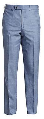 Saks Fifth Avenue Men's COLLECTION Wool, Silk& Linen Woven Suit Pants